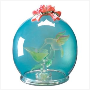 Crystal Hummingbird Ball