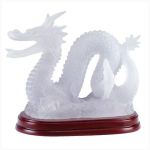 Illuminated Frosted Dragon