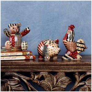 Mini American Country Patchwork Animals