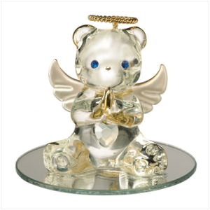 June Birthstone Angel Bear