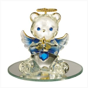September Birthstone Angel Bear
