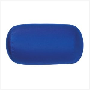 Blue Squishy Bolster Pillow