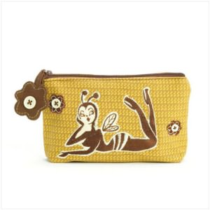 Bee Girl Cosmetic Bag
